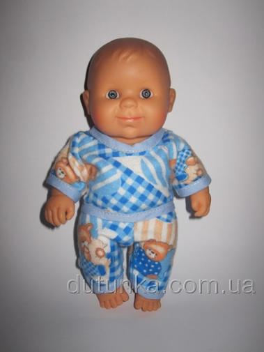Пижамка для пупса Паола Рейна Мишки спят (ПР126) Dutunka