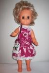 Летнее платье для советской  куколки 32 см Малиновая фантазия (К11)бронь Dutunka