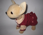 Платье летнее для интерактивной собачки Бордо (ЧЧЛ112) Dutunka