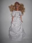 Платье белоснежное бальное для куклы Барби  (Б113) Dutunka