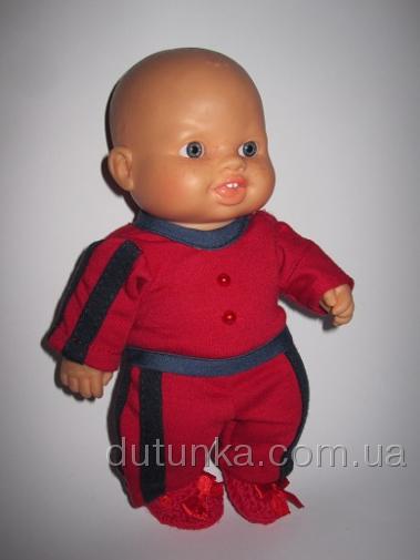 Спортивный костюм для пупса-мальчика Паола Рейна Спортивный стиль (ПР119) Dutunka