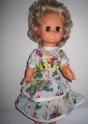 Летнее платье для куколки 32 см Летний луг (К15) Dutunka