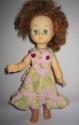 Летнее платье для советской  куколки 34 см Прелесть (К16) Dutunka