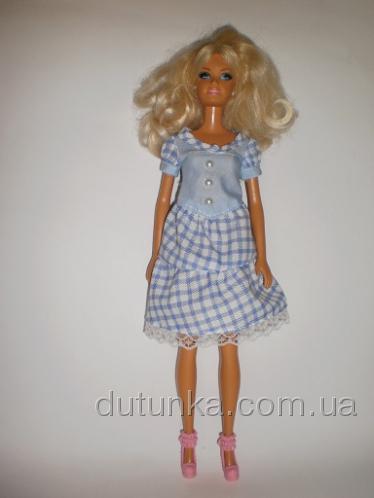 Платье для куклы Барби Голубинка (Б225)нет в наличии Dutunka