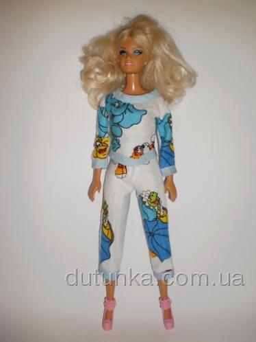 Баевая пижамка для куклы Барби Клад (Б221) Dutunka