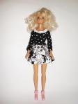 Платье для куклы Барби Темная ночь(Б222)нет в наличии Dutunka