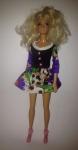 Платье  комбинированное для куклы Барби Вайолет (Б231) Dutunka