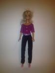 Комплект брючный для куклы Барби Ультрафиолет (Б242)бронь Dutunka
