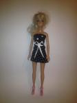 Платье для куклы Барби Модные горошки (Б244) Dutunka