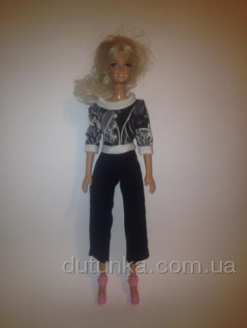 Костюм для куклы Барби чёрно-белый Классика (Б245)нет в наличии Dutunka
