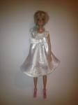 Платье атласное для куклы Бари Бантик(Б255) Dutunka