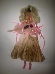 Бальное платье для куклы Барби Аврора (Б260) Dutunka