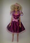 Атласное платье для куклы Барби Сиреневое настроение (Б263)нет в наличии Dutunka