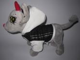 Пиджак для собачки Чи чи лав Черно-белый (Ч292) Dutunka
