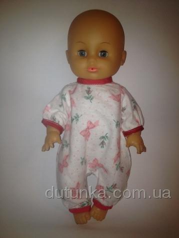 Человечек фланелевый для пупса-девочки Малыш (К35-3)нет в наличии Dutunka