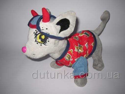 Рубашка с кепочкой для собачки Чи Чи Лав Модник (Ч356) Dutunka