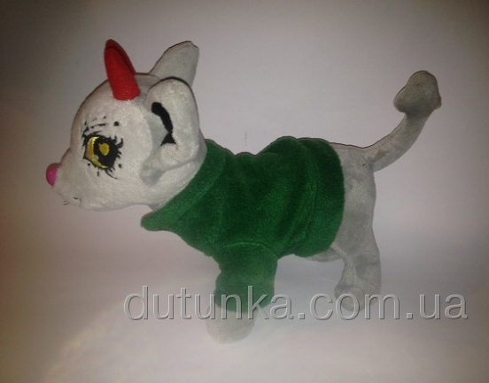 Теплый флисовый пиджак для собачки Чи Чи Лав Изумрудик (Ч366) Dutunka