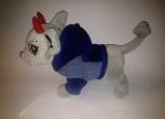 Джинсовый пиджак с капюшоном для собачки Чи Чи Лав Синий(Ч367) Dutunka