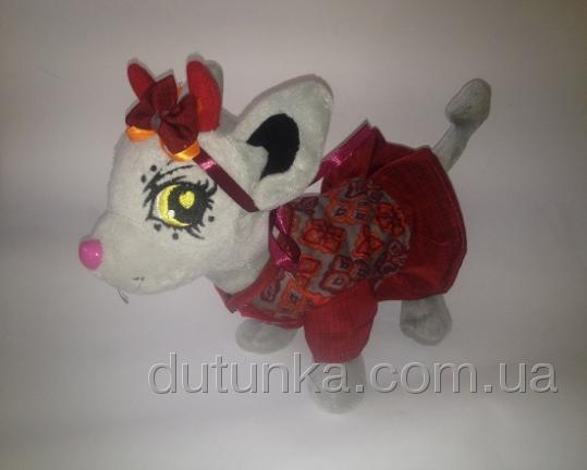 Платье летнее для собачки Чи чи лав Терракотовое (Ч371) Dutunka