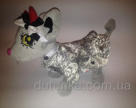 Платье с ошейником и повязкой для собачки Чи Чи Лав Грейс (Ч378) Dutunka
