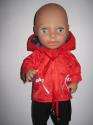 Куртка  для пупса-девочки ростом 38 см Пламя (К38-131) Dutunka
