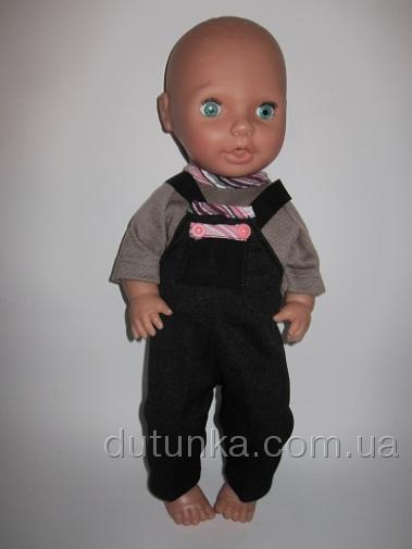 Комплект одежды для пупса-девочки  Стильная осень (К38-143) Dutunka