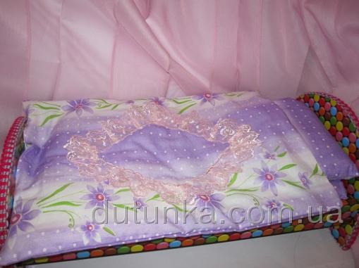 Комплект постельного белья  Фиалковый девичий (К38-146) Dutunka