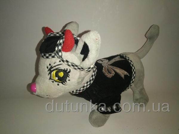 Вельветовый пиджак для собачки  мальчика Чи-чи лав (Ч389) Dutunka
