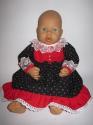 Платье Красное и черное (А4) Dutunka