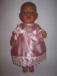 Платье розовое  для пупса Беби борн Розовая мечта (ББ501)нет в наличии Dutunka