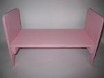 Кукольная розовая кроватка для куклы Барби  (К5) Dutunka