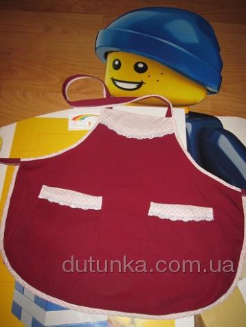 Фартук  для девочки 10 лет  (Ф60) Dutunka