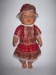 Платье летнее для пупса Беби борн Яркое (ББ603) Dutunka