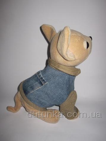 Джинсовый пиджак для интерактивной собачки Чи Чи Лав (ЧЧЛ61) Dutunka