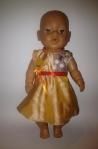 Платье для пупса-девочки  Baby Born Три грации Ромашки(ББ709) Dutunka