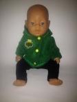 Курточка теплая для пупса  Беби Борн Green day (ББ740) Dutunka