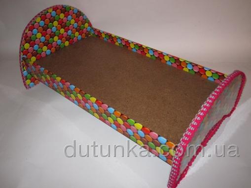 Кроватка для куколки Беби АннабельКонфетка (К10)нет в наличии Dutunka