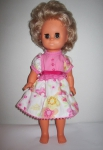 Летнее платье для куколки 32 см Розовое лето (К9)нет в наличии Dutunka