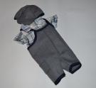 Комплект одежды для пупса Беби борн  Стиляга (ББ972) Dutunka