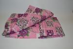 Кукольная постель для пупса Розовая (R97) Dutunka