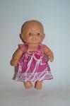Платье для пупса-девочки Паола Рейна Розовое (ПР57) Dutunka