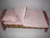 Кроватка для куклы/пупса ростом 42 см Конфетка (Беби Борн)(К9) Dutunka