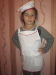Детский набор для кухни Поварёшка для девочки (Ф36)  Dutunka
