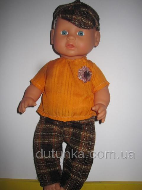Штанишки с рубашечкой и кепочкой  (К36-1) Dutunka