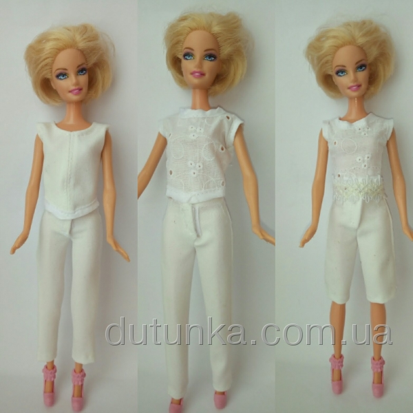 Костюм брючный для куклы Барби Классика (Б245) Dutunka