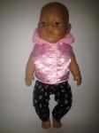 Розовая жилеточка для пупса-девочки Беби Борн Розочка(ББ696)нет в наличии Dutunka