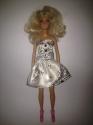 Платье бальное атласное для куклы Барби Грейс (Б230) Dutunka