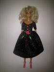 Платье праздничное блестящее для куклы Барби Звездное (Б257)нет в наличии Dutunka