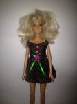 Платье бальное с коротким рукавом для куклы Барби Новогоднее (Б89) нет в наличии Dutunka