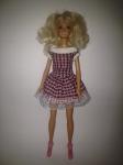 Нарядное платье для куклы Барби Сиреневая фантазия (Б156) Dutunka